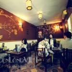 Đèn lồng trang trí quán cà phê