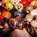 Đèn trang trí đám cưới