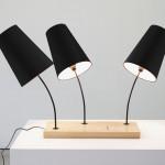 Đèn để bàn gỗ Placa
