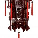 Đèn kéo quân gỗ chạm rồng