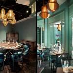 Đèn trang trí nhà hàng cao cấp