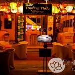 Đèn lồng trang trí nhà hàng quán cafe đón Tết