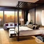 Đèn trang trí nội thất phòng ngủ khách sạn và spa