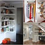 11 ý tưởng hữu ích sử dụng góc trống trong nhà