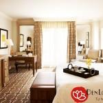 Đèn ngủ cao cấp để bàn khách sạn