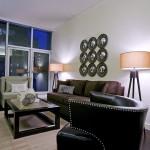 Các mẫu đèn cây phòng khách hiện đại