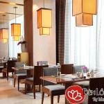 Bố trí ánh sáng đèn cho nhà hàng cao cấp
