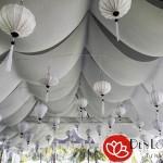 Lồng đèn Hội An trang trí nhà hàng tiệc cưới