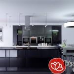 Bố trí đèn trang trí nội thất chung cư hiện đại