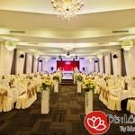 Các kiểu đèn trang trí nhà hàng tiệc cưới