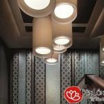 Kinh nghiệm bố trí đèn ở sảnh resort thật ấn tượng