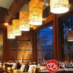 Nghệ thuật trang trí đèn nhà hàng cao cấp