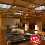 Cách phối hợp các loại đèn trang trí nội thất spa