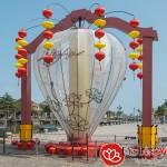 Lồng đèn Việt Nam trang trí Tết cổ truyền