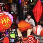 Nghề làm đèn lồng truyền thống của người dân phố Hội