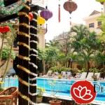 Lồng đèn Hội An trang trí khách sạn