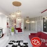 Các mẫu đèn trần phòng khách chung cư cao cấp