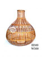 Đèn lồng mây tre đan DT-MT031 trang trí được sử dụng trang trí trong nhà hàng, khách sạn mang phong cách Việt.