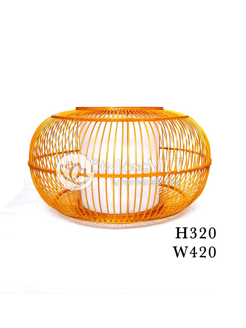 Đèn lồng mây tre đan DT-MT028 trang trí được sử dụng trang trí trong nhà hàng, khách sạn mang phong cách Việt.
